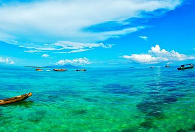 三亚原生态海岛户外体验 速降 浮潜 穿越(1日行程)