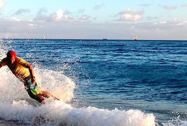 三亚专业教练指导 沙滩体验桨板课程(1日行程)