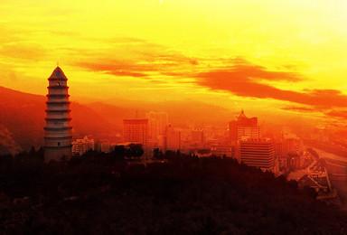 清明4月1-4日中国奇景波浪谷 镇北台 红石峡 壶口瀑布(4日行程)