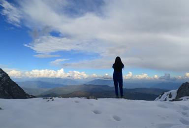 玉龙雪山望雪峰5100徒步(1日行程)