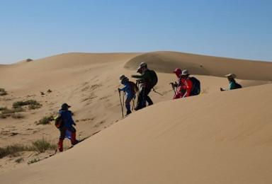 沙漠成长之路  腾格里沙漠成长夏令营(6日行程)
