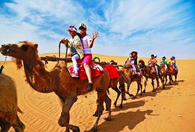骑骆驼穿越腾格里沙漠(3日行程)