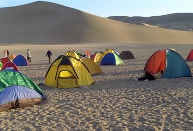 穿越中国四大沙漠之腾格里沙漠(5天行程)