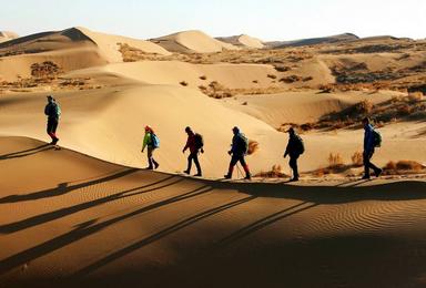 腾格里沙漠 穿越 露营(4日行程)
