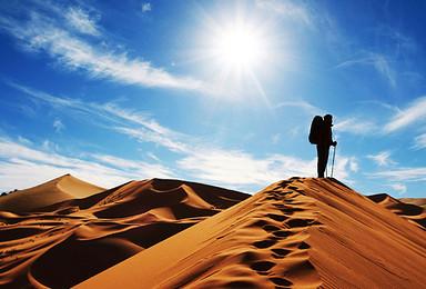 蜗牛沙漠之旅 腾格里沙漠徒步  探沙湖西夏秘境(6日行程)
