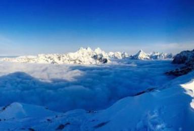豪华定制四姑娘雪山之巅大峰5025攀登计划(5日行程)