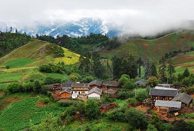 丽江 老君山原始森林穿越 露营(6日行程)
