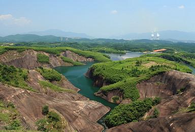徒步郴州丹霞高椅岭 船游东江湖(2日行程)