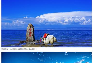大美青海湖 鸟岛摄影 茶卡盐湖奇幻圆梦之旅(5日行程)