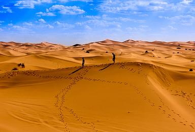 大漠爱无疆 穿行腾格里 徒步穿越活动 赠多重礼包(9日行程)