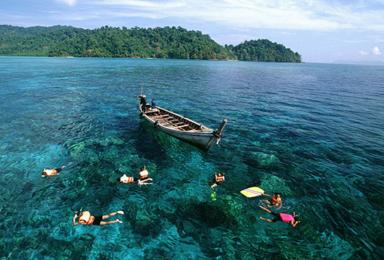 泰国南部 泰南海岛 曼谷 丹能莎朵 芭提雅 沙美岛休闲游(7日行程)
