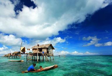 马来西亚风下之乡 沙巴仙本那 诗巴丹 天堂海岛纯玩休闲之旅(7日行程)