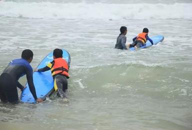 发挥孩子更棒的一面 来日月湾暑期冲浪夏令营(高级标间住宿)(6日行程)