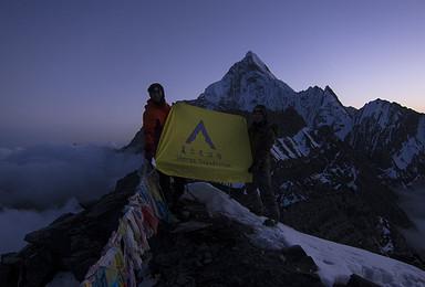 2016年7月四姑娘山5000米级雪山大二峰攀登计划(27日行程)