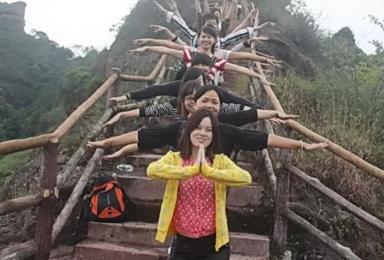 周末徒步风景如画的锦江 游览巴寨土匪洞 体验农家生活(2日行程)