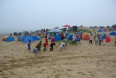 翡翠岛扎营 海边烧烤 滑沙 做沙雕 摄影休闲游(2日行程)
