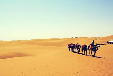 沙漠之旅   腾格里沙漠露营 精品线路两日游(2日行程)