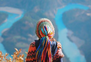 怒江大峡谷全景 最后的人间天堂 寻找与世隔绝的纹面女(9日行程)