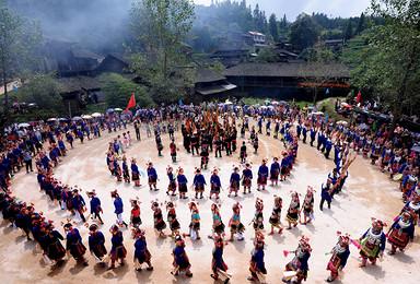 黄平苗族芦笙节 华丽民族风情 深度体验之旅(7日行程)