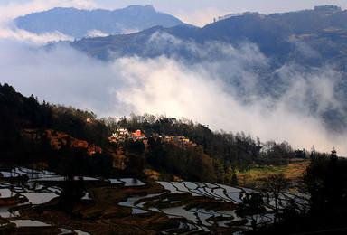 云南路线 重装徒步穿越哀牢山原始森林(6日行程)