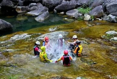 带你走进徽南太平湖 体验划艇溯溪(5日行程)