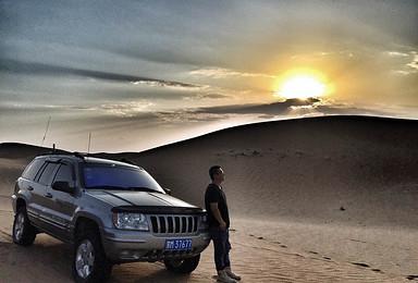 腾格里沙漠 全程越野车自驾深度游(5日行程)