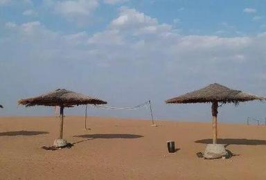 沙坡头经典 骑骆驼 滑沙 羊皮筏 沙漠冲浪(3日行程)