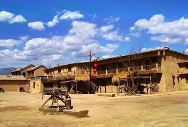 畅游宁夏 东方好莱坞 西北影视城 中国金字塔 西夏王陵 爸爸去哪儿拍摄地 沙坡头(4日行程)