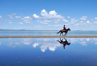 锡林郭勒草原达里诺尔湖勃隆克沙漠(3日行程)
