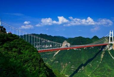 长沙 韶山 张家界 黄龙洞 大峡谷 玻璃桥 晚会表演 凤凰古城(6日行程)