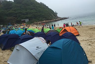 中秋节海岛露营活动(2日行程)