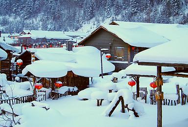 哈尔滨 东升穿越 雪乡 镜泊湖 魔界 长白山 吉林雾凇岛(7日行程)