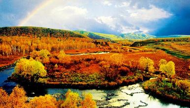 阿尔山天池 中蒙边界哈拉哈河 长白山天池 红海滩(8日行程)