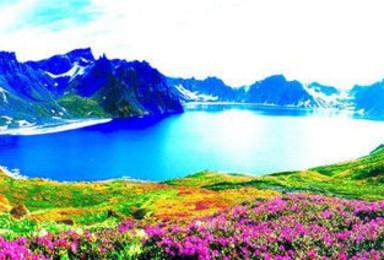 长白山天池 长白西坡高山花园 吊水壶 最美瑶池仙境(4日行程)