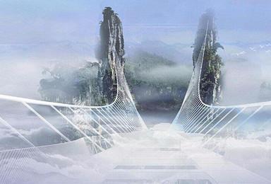 张家界 天门山凤凰古城大峡谷玻璃桥双飞游(5日行程)