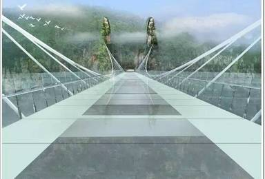 张家界大峡谷玻璃桥 凤凰古城(6日行程)