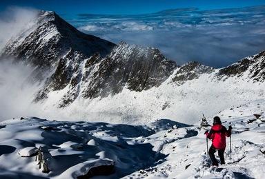 四姑娘山长坪沟徒步 二峰攀登 尝试初级雪山攀登(6日行程)