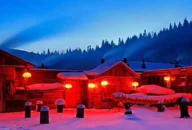 哈尔滨冰灯 雪乡勇者穿越 探秘雪域长白 赏雾凇奇观 激情滑雪(7日行程)