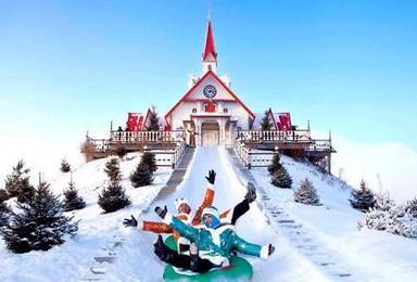 哈尔滨冰雪大世界 亚布力滑雪 虎峰岭雾凇 中国雪乡双飞游(5日行程)