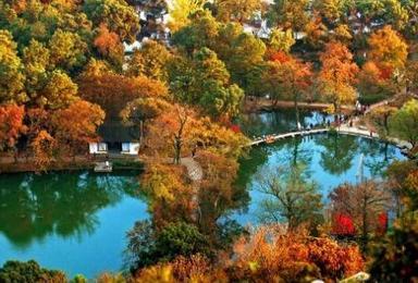 红枫赏秋 从灵岩山到天平山穿越 赏醉美红枫 摄影线(1日行程)