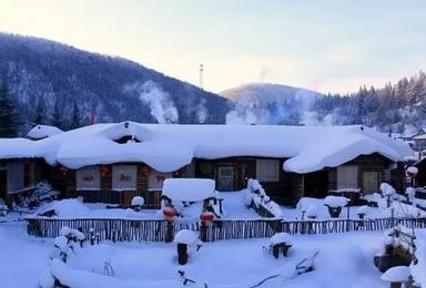 打个飞的去看雪 东北雪乡超值游活动(5日行程)