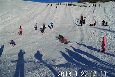 邀您南山牧场徒步滑野雪(1日行程)