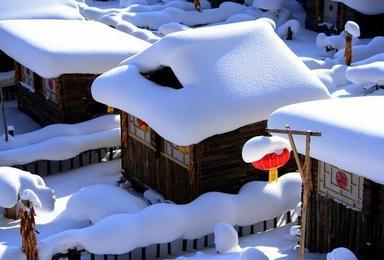 童话雪乡 雪谷 雪乡穿越滑雪 激情穿越林海雪原(4日行程)