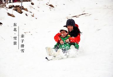 寒假亲子冬令营 东北哈尔滨冰雪大世界 雪乡户外徒步 学习滑雪(7日行程)