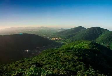 登顶苏州第一高峰穹窿山 赏天平山红叶(1日行程)