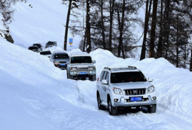 北疆越野深度体验 醉美雪乡 高山滑雪 古海温泉(7日行程)