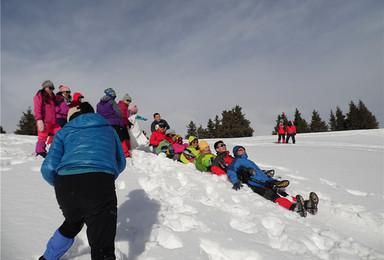 邀您金泉沟徒步 滑野雪 享高山火锅宴(1日行程)