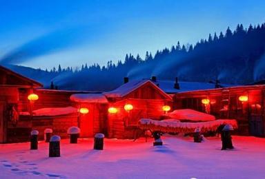 豪华东北雪乡游 雪乡 长白山(7日行程)