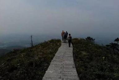 横山三十六峰之一拖船壑穿越(1日行程)