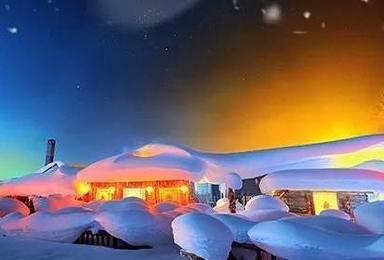 冰雪盛宴A线 之中国雪乡 镜泊湖 长白山 魔界 雾淞岛童话之旅(7日行程)